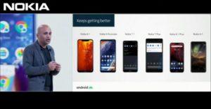 Přehled aktualizace Android 10 na telefonech Nokia