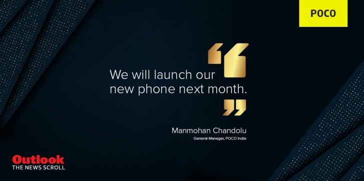 Poco potvrdilo nový smartphone, který se představí již 4. února
