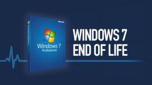 Konec podpory pro Windows 7