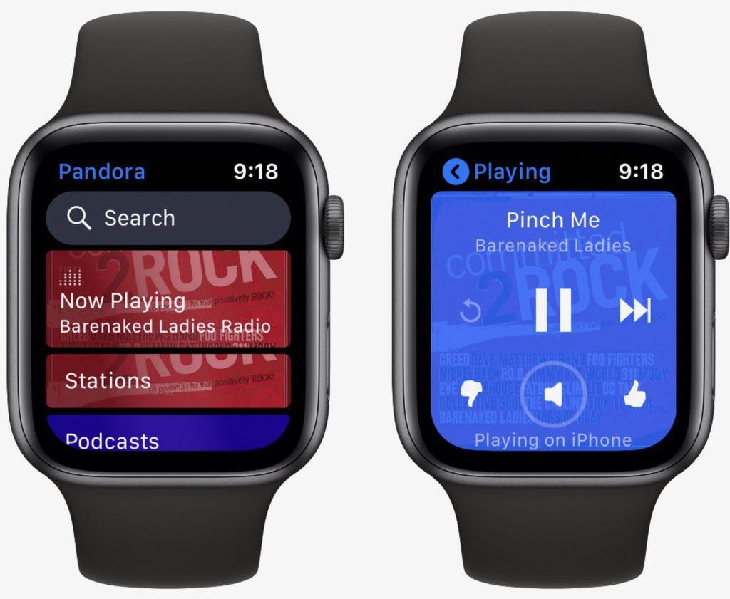 Aplikace umožňující streamování hudby bez nutnosti přítomnosti iphone