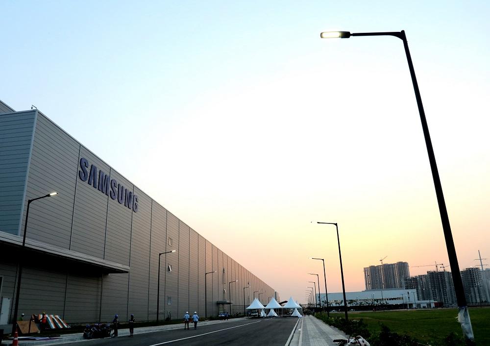 Továrna společnosti Samsung