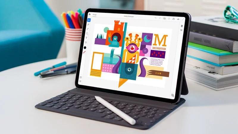 Adobe Illustrator na iPadu
