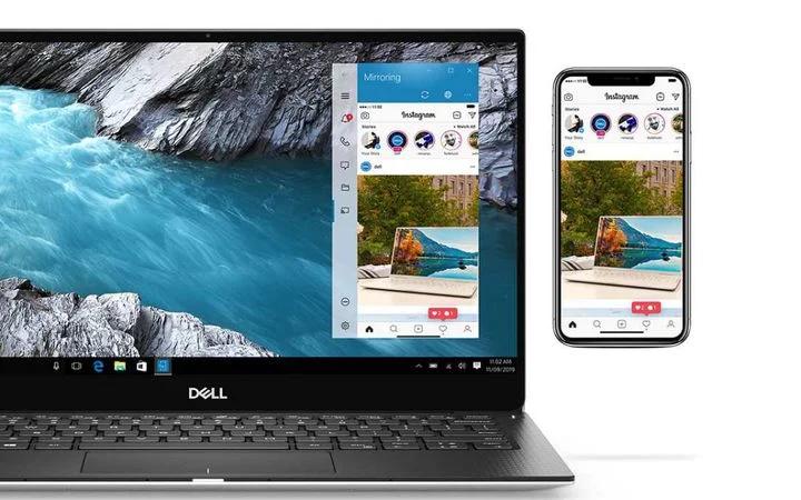 Dell Mobile Connect umožňuje zobrazení obrazovky iPhone ve Windows