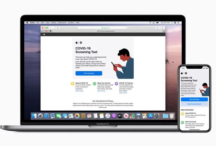 Apple vydal nový web a aplikaci proti COVID-19