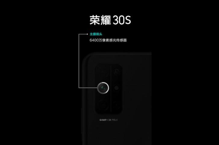 Honor 30S by měl mít 3x optický zoom