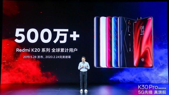 Redmi K20 přesáhl prodej 5 miliónů, 50% jsou noví uživatelé