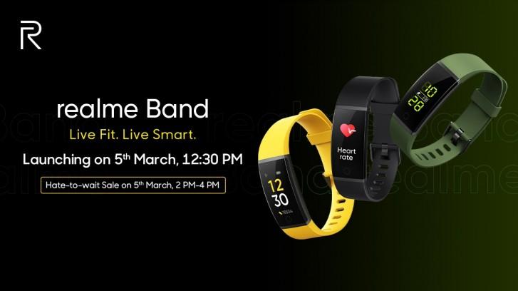 Realme Band s HR monitoringem, oznámením a 10ti denní výdrží baterie