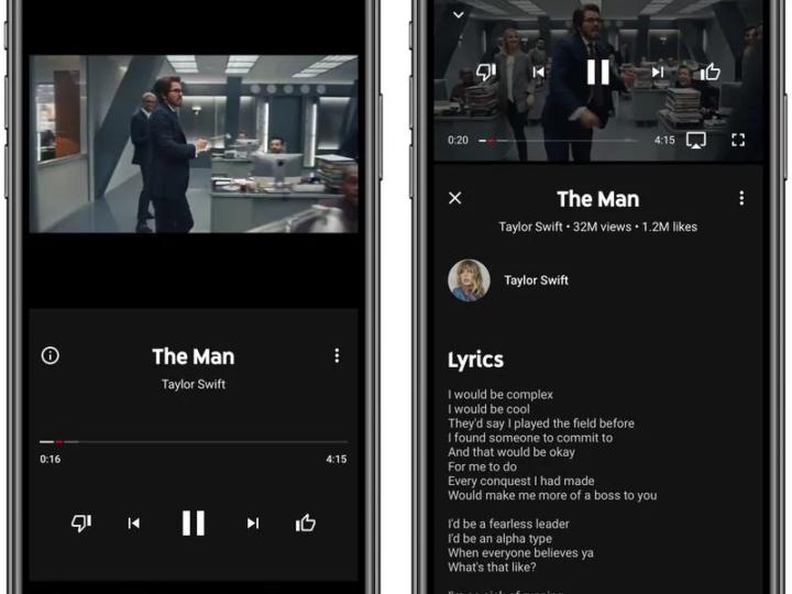 Youtube Music na iOS umožňuje zobrazovat texty písní