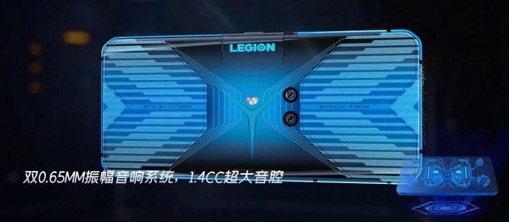 Herní telefon Lenovo Legion bude mít unikátní design